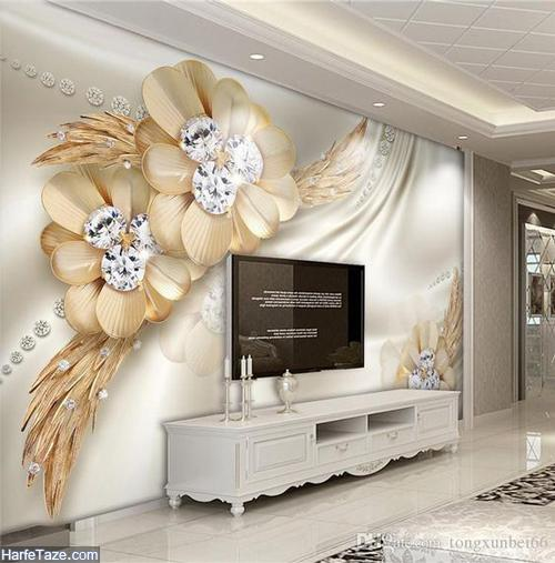 دیزاین دیوار پشت تلویزیون