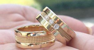 مدلهای جدید ست حلقه ازدواج و نامزدی عروس و داماد