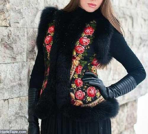 جلیقه زمستانی زنانه