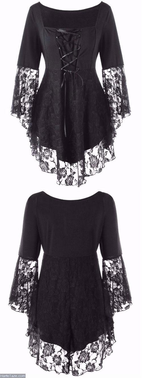 لباس مشکی زنانه