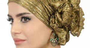 مدل های توربان مجلسی و کلاه حجاب برای مهمانی و مجالس مختلف