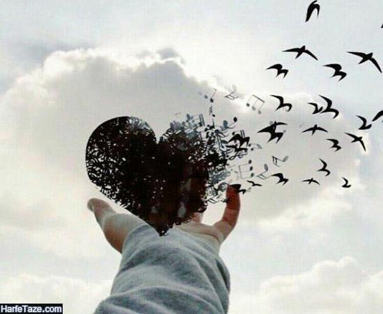عکس قلب شکسته بدون متن برای پروفایل + عکس پروفایل قلب شکسته مشکی