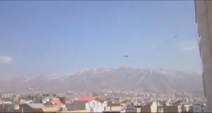 ماجرای فیلمی از یک شیء شبیه بشقاب پرنده در آسمان کرج