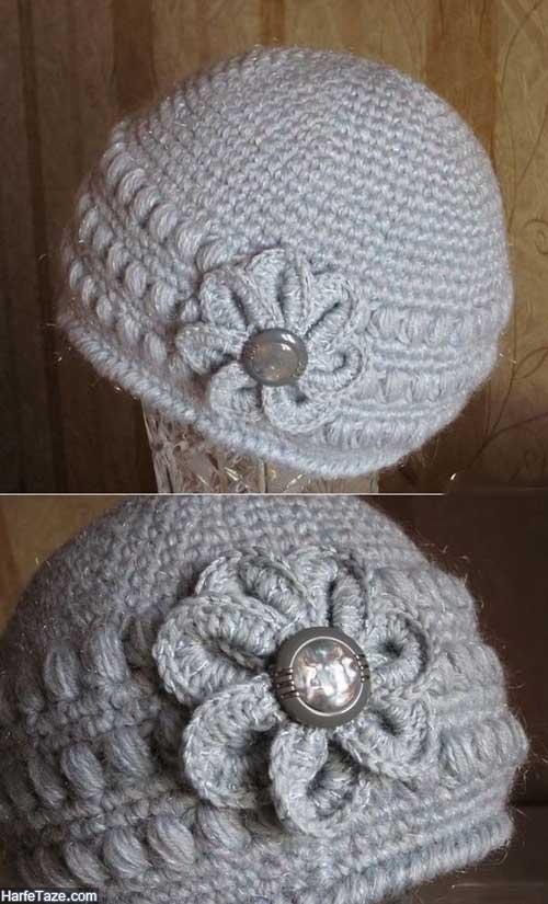 بافت کلاه شال گردن