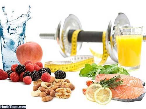غذاهای بعد از ورزش