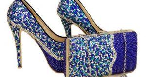 کیف و کفش لاکچری در رنگهای متنوع برای ست کردن با لباس مجلسی