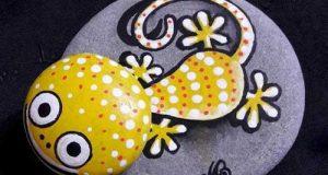 ایده های جدید و زیبا برای نقاشی روی سنگ | آموزش نقاشی روی سنگ