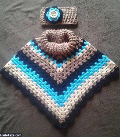 شنل زمستانی بچگانه