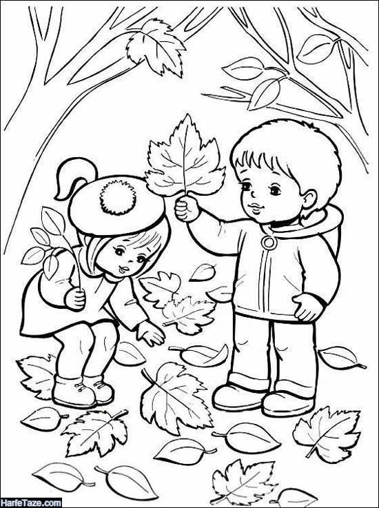 نقاشی پاییز