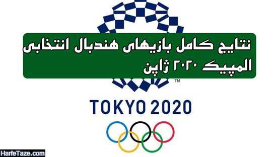 هندبال انتخابی المپیک