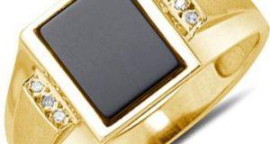 انگشتر مردانه طلا | مدل های جدید و شیک انگشتر مردانه