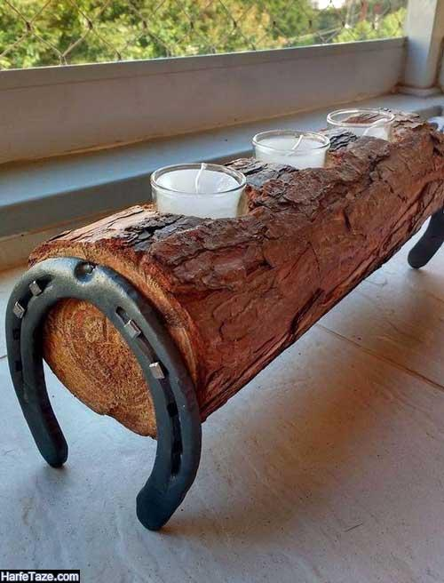 دکوراسیون چوب طبیعی