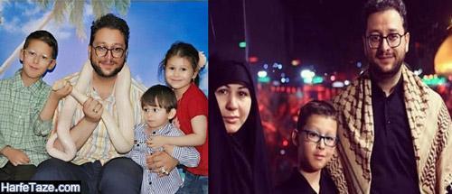 عکس همسر بشیر حسینی