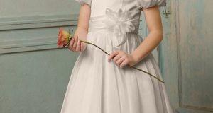 لباس عروس بچگانه | مدل های جدید لباس عروس دختربچه