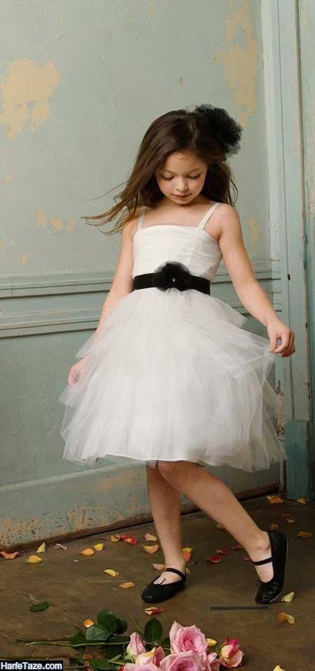 لباس عروس بچگانه