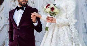 مدل لباس عروس اسلامی و محجبه جدید | مدلهای لباس عروس پوشیده