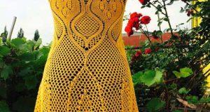 ژورنال مدل های فوق العاده شیک و زیبای لباس قلاب بافی زنانه مجلسی