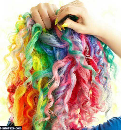 ماندگاری رنگ مو