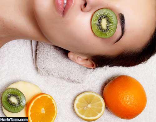 ماسک میوه های زمستانی