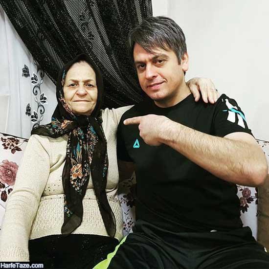 رضا شاهرودی فوتبالیست | بیوگرافی و عکس های رضا شاهرودی و همسرش + سرگذشت زندگی