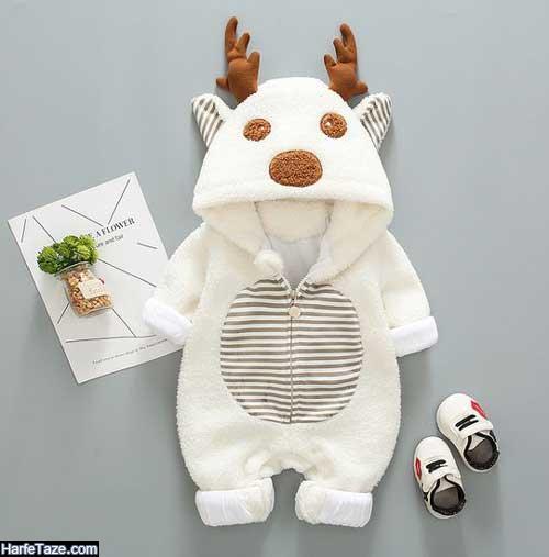 سرهمی زمستانی نوزاد