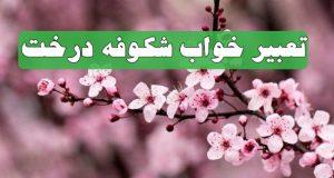 تعبیر دیدن شکوفه و شکوفه زدن درختان در خواب