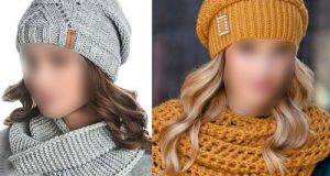 مدلهای جدید ست شال و کلاه بافتنی دخترانه و زنانه بسیار شیک