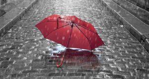 عکس پروفایل چتر و باران و چتر و پاییز + عکس چتر خیس برای پروفایل غمگین عاشقانه