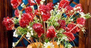 آموزش گلدان میوه ای برای شب یلدای ۹۸