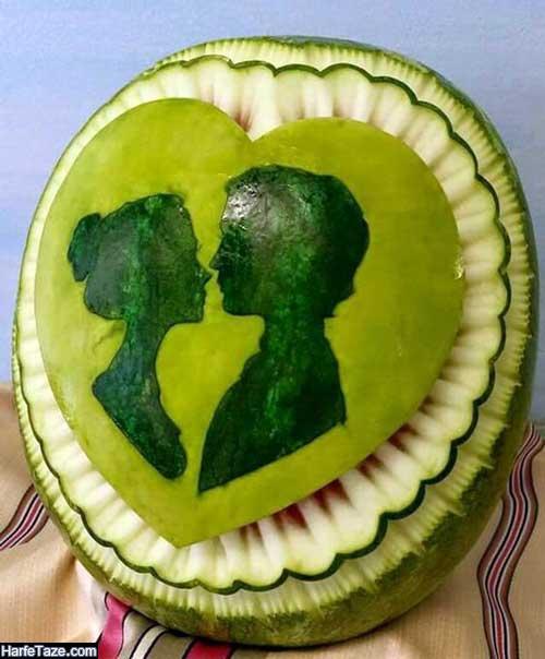 هندوانه شب یلدای عروس