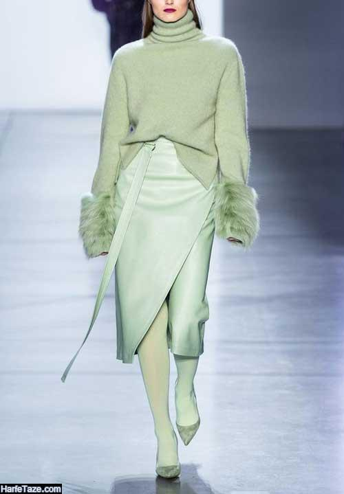 لباس زنانه سفید مرجانی