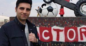بیوگرافی و عکس های مجتبی ساعی گزارشگر فوتبال شبکه سهند