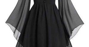 مدل پیراهن مشکی دخترانه | مدل لباس مجلسی مشکی ۲۰۱۹