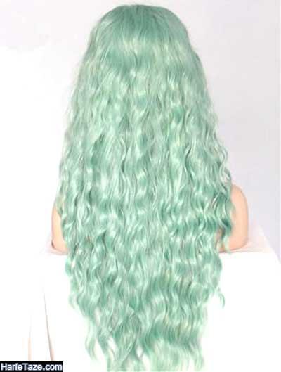 رنگ موی سفید مرجانی