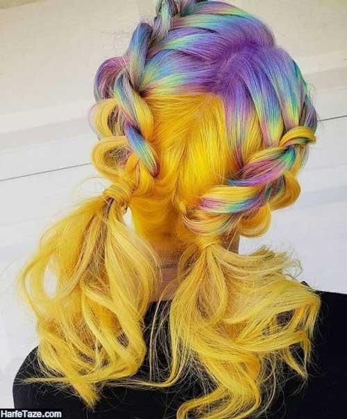 رنگ موی فانتزی