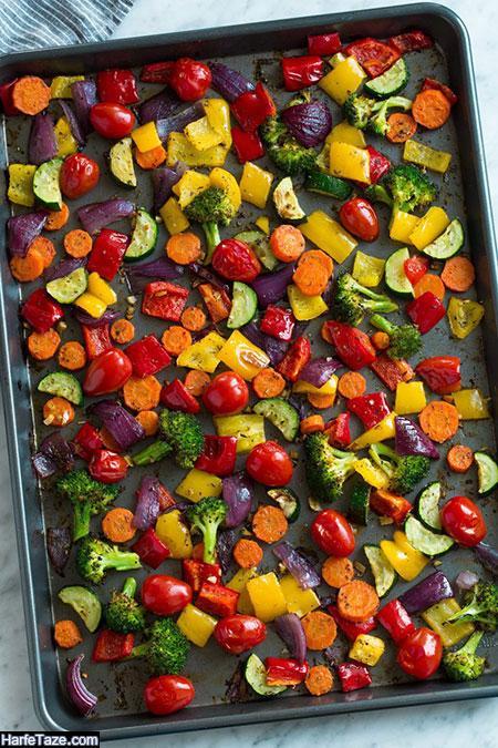 سبزیجات برشته