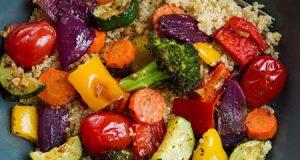 موارد استفاده سبزیجات برشته | طرز تهیه سبزیجات برشته در فر