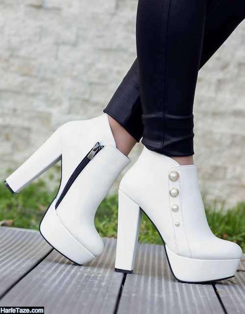 استایل زمستانی سفید