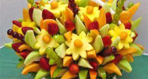 ایده های جدید تزیین میوه سیخی ویژه شب یلدا ۹۸