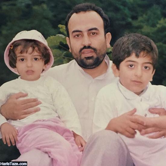 عکس فرزندان محمدرضا زائری