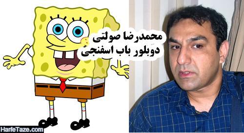بیوگرافی محمدرضا صولتی بازیگر و دوبلور