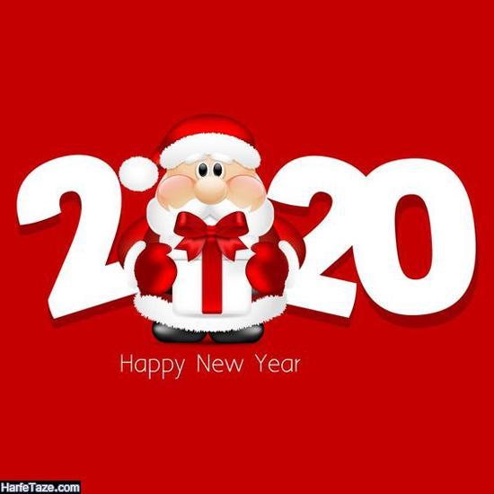 دانلود عکس بابانوئل برای تبریک سال 2020 و کریسمس