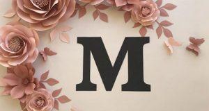 عکس پروفایل حرف m + عکس حرف انگلیسی M برای پروفایل دخترانه و پسرانه