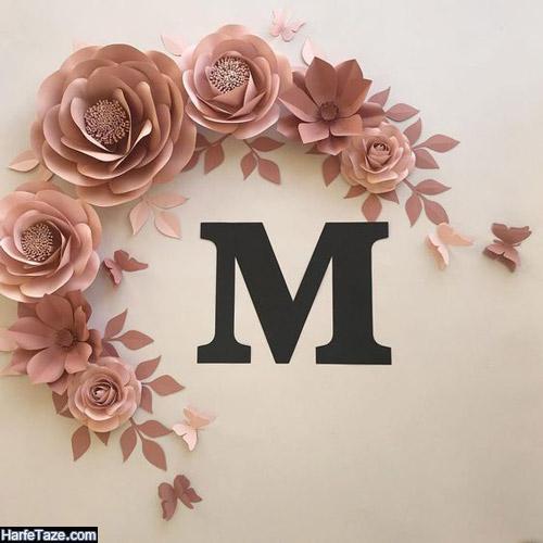 عکس پروفایل حرف m