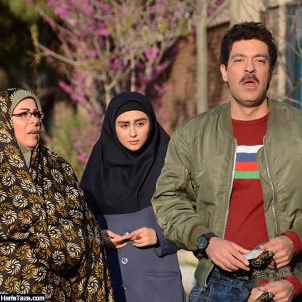 تصاور سامان دارابی در سریال گسل