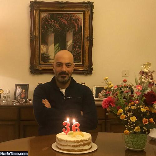 عکس جشن تولد سامان دارابی