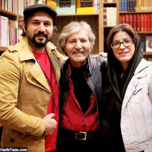 عکس ها و بیوگرافی تورج شعبانخانی آهنگساز و همسرش گلناز عالیان
