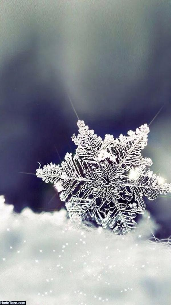 بک گراند زمستانی برای گوشی دخترانه