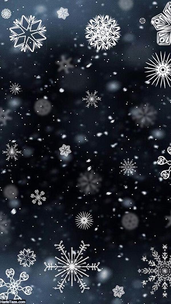 بک گراند زمستانی و برفی