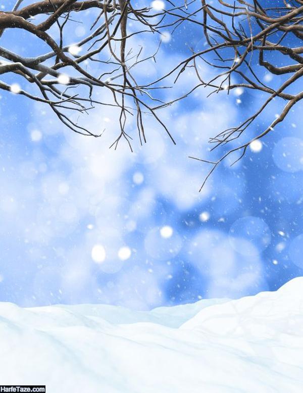 والیپر و بک گراند زمستانی